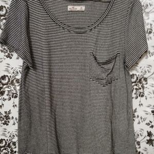 Oversized Stripped Hollister Top